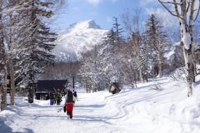 黒岳スキー場へ
