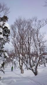 3日目大岳コース(入り口だけ)