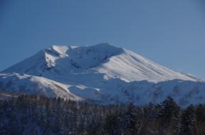 白樺荘から旭岳