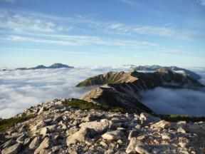 写真3(遠く左が立山)
