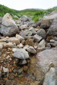 黒部川最初の一滴