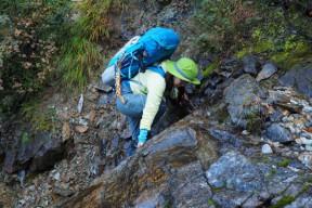 小滝のクライミング