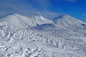 冬の絶景 大岳~井戸岳