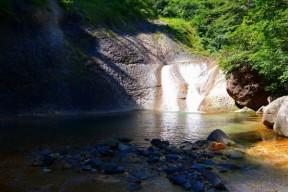 4m 水流の左を登った