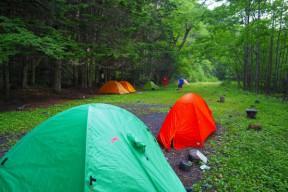 キャンプ場 超快適~。