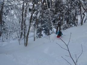 滑りは楽しかったが