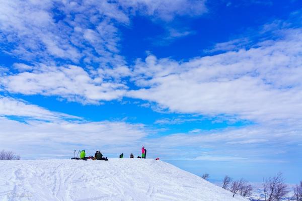 鍋倉山山頂