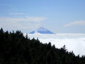 黒鉄山からの富士山