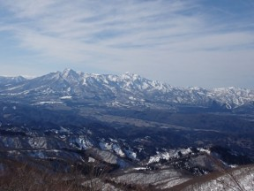 妙高の山々